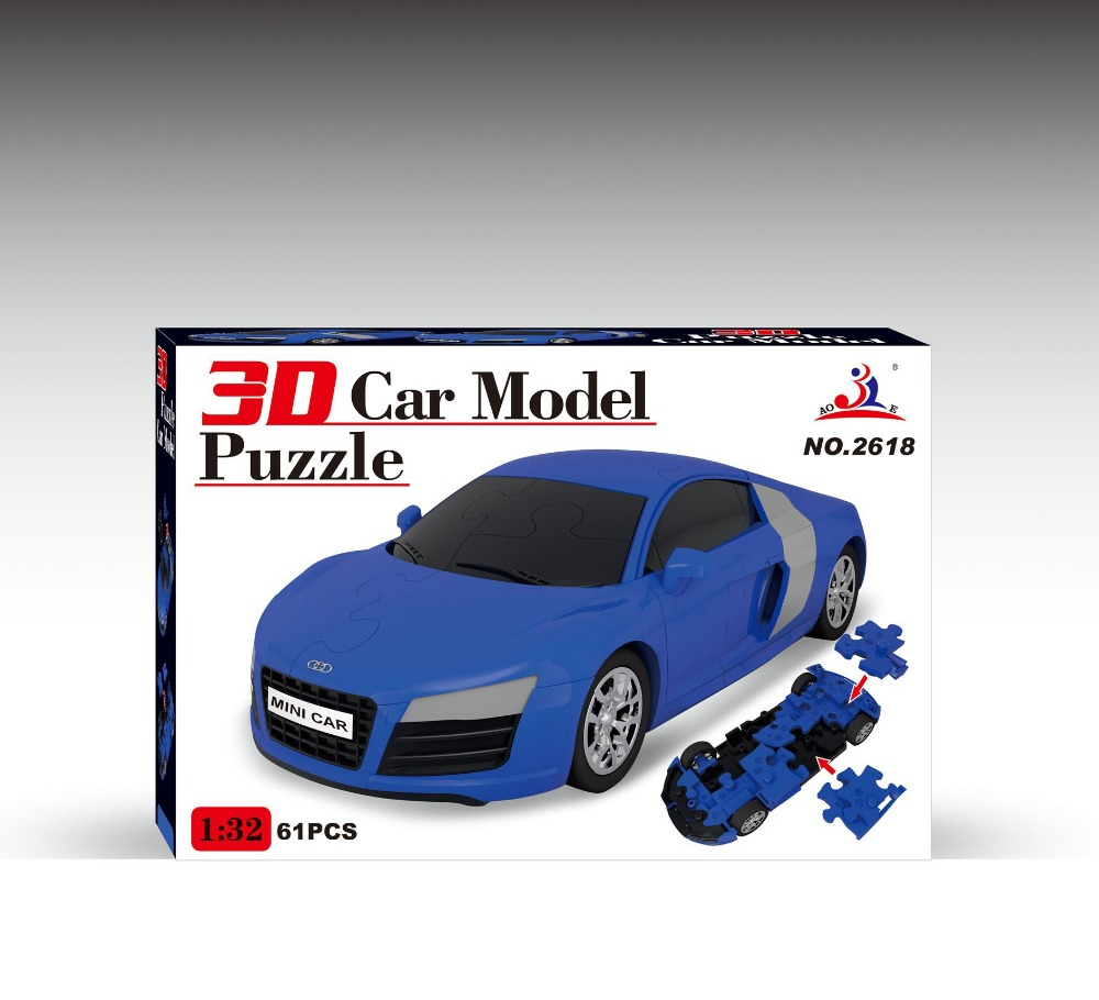 Superb 3D Car Model Audi R8 Racing Car Building Blocks City Assemble Toy Kids  Early Educational Toys For Kids Birthday Gift In Blocks From Toys U0026 Hobbies  On ...