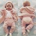Da criança Infantil Do Bebê Da Menina do Menino Calças Fundo Do Coração Do Algodão Calças Leggings 6-24 M