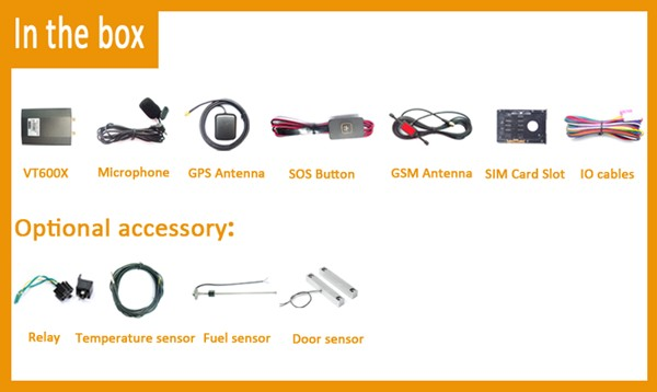 itrac vt600x gps car system accessory details