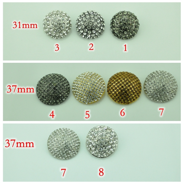 941eba00cc US $1.88 5% OFF|Free shipping Hi Q craft supplies metal rhinestone  embellishments sewing buttons for fur coats ,clothing ,wedding  accessories-in ...
