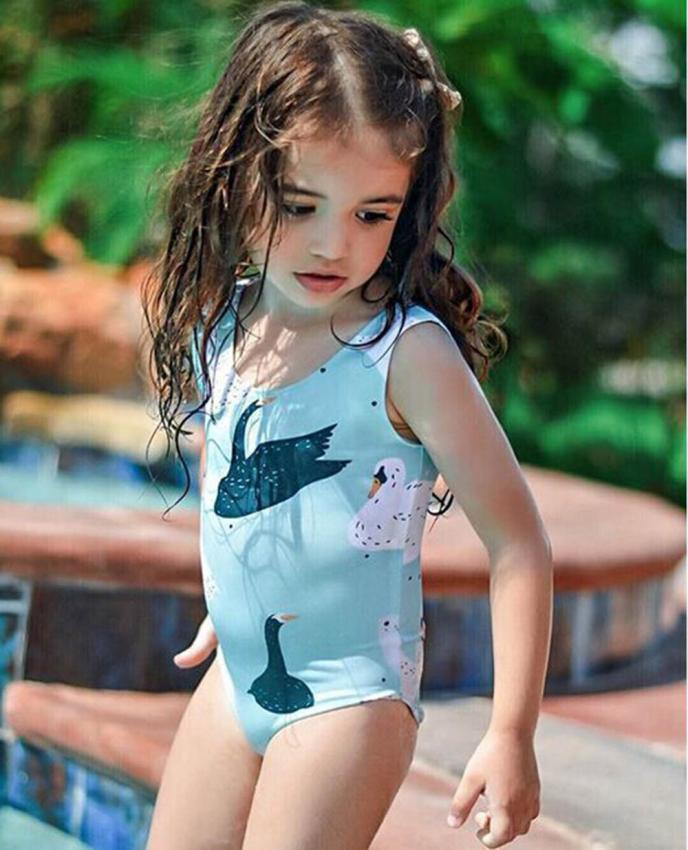 Low Price Loss Sale Infant Kids Baby Girls Swimsuits -4255