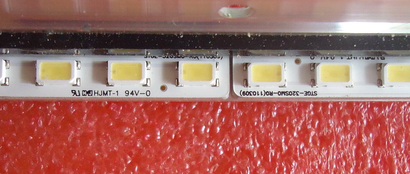 FOR TCL L32D3260 LED Article Lamp LJ64-03019A STGE-320SM0-R0 32INCH-HD-36 G1GE-320SN0-R5 1piece=36LED 361mm 1set=2piece