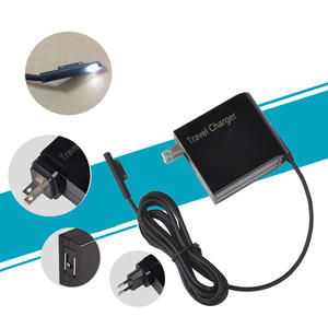 Travel-Plug Wall-Charger Microsoft Surface-Pro Cable Power-Supply-Adapter 4-Pro4 24W