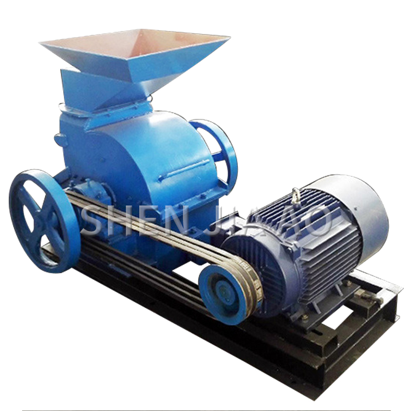 380V 200*500 Stone Crushing Equipment Small Hammer Type Sanding Machine Model Ore Fine Grinding Machine 1PC