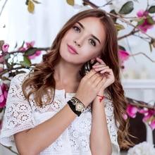 Watch Women Luxury Gold Fashion Crystal Rhinestone Bracelet