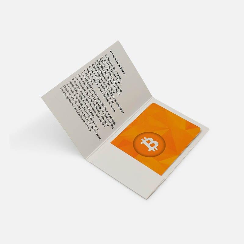 Zuoluo personnalisé imprimé papier couché porte-cartes impression de chine