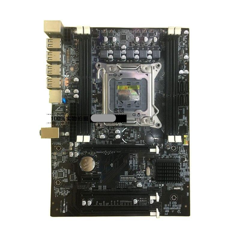 Carte mère professionnelle LGA 2011X79 carte mère Max 64 GB 4 * DDR3 1866/1600/1333 MHz ECC RAM SATA2.0 carte mère d'ordinateur