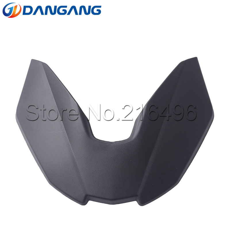 Black Motorcycle Accessories Front Fender Beak Extension Extender Wheel Cover Cowl For BMW G310GS 2017 18