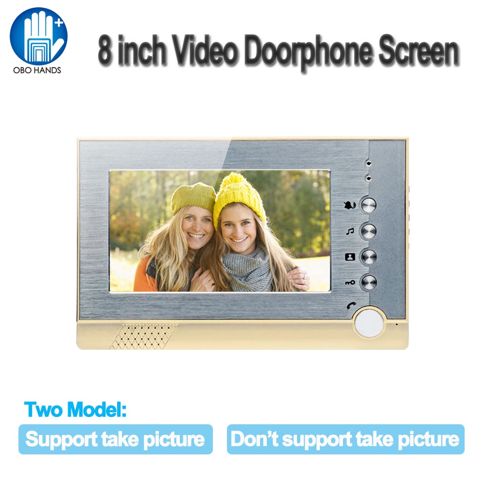 Wired Video Intercom Door Phone Doorbell System 7 inch Monitor TFT LCD High Resolution Screen with 25 Rings for Home Apartment 7 inch video doorbell tft lcd hd screen wired video doorphone for villa one monitor with one metal outdoor unit night vision