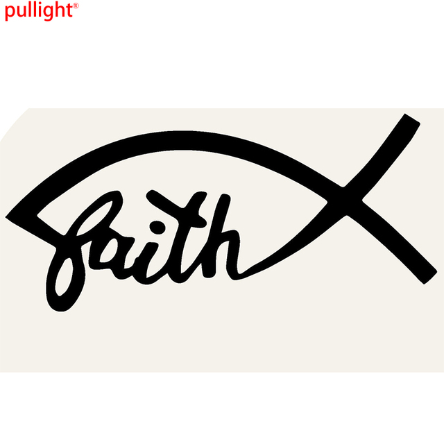 faith fish devout catholic christian religious themes funny car