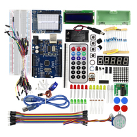 Smart Electronics UNO R3 For Arduino Starter Kit Step Motor Servo 1602 LCD Breadboard Jumper Wire