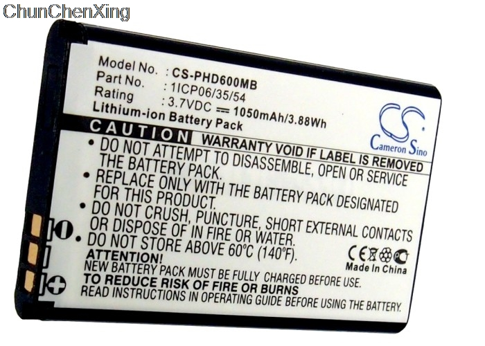 Cameron Sino Replacement Battery fit for JBL Flip//JBL Flip 1 Portable Bluetooth Speaker 1050mAh