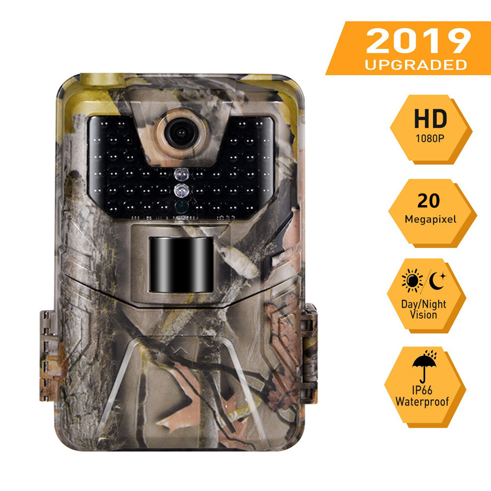 20MP 1080P Wildlife Trail Camera Wireless Hunting Cameras HC900A PhotoTraps Night Vision Tracking Cam Surveillance