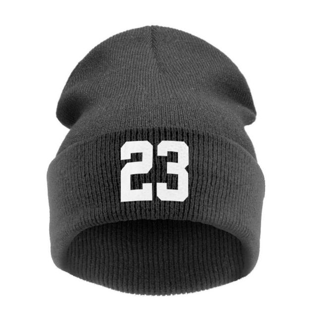 7f0d3e00792 2017 Letter Unisex Cotton Top23 Beanie hip hop fashion Knit Cap Baseball  Cap BBOY hip hop hat