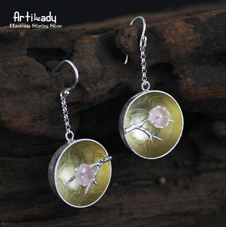 Artilady handmade 925 sterling silver earrings classical hollow out plum blossom earrings women jewelry christmas gift borderline americans – racial division and labor war in the arizona borderlands