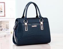 2015 new handbag fashion handbag crocodile pattern handbag shoulder bag bride bag diagonal package wedding