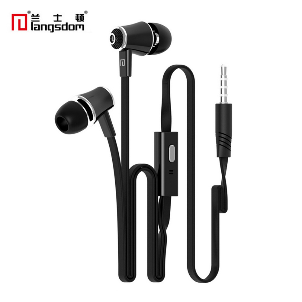 Official Original Langsdom JM21 In-ear Earphones With Microphone Super Hifi Stereo Bass Music Earbuds Gaming Headset For Iphone
