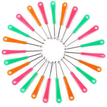 20PCS Colorful Ear Pick Cleaner Baby Children Metal Earpick Wax Remover Curette Health Care Tool Random Color(China)