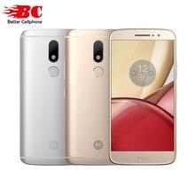 Оригинальный Motorola Moto M XT1662 5.5 «FHD helio P15 8-ядерный Android 6.0 4 г td LTE смартфон 4 ГБ Оперативная память 32 ГБ Встроенная память 16MP Touch ID