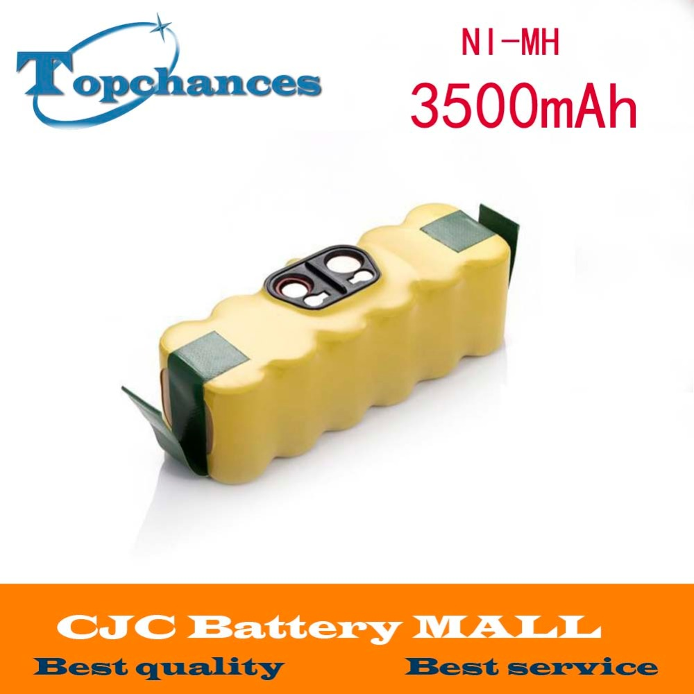 14.4V 3500mAh Ni-MH Battery for iRobot Roomba Vacuum Cleaner for 500 560 530 510 562 550 570 581 610 650 790 780 532 760 770 3800mah 14 4v xlife ni mh battery for irobot roomba 500 510 530 531 532 570 580 595 600 620 630 650 660 700 760 770 780 790 800