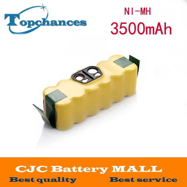 14.4V 3500mAh Ni-MH Battery for iRobot Roomba Vacuum Cleaner for 500 560 530 510 562 550 570 581 610 650 790 780 532 760 770
