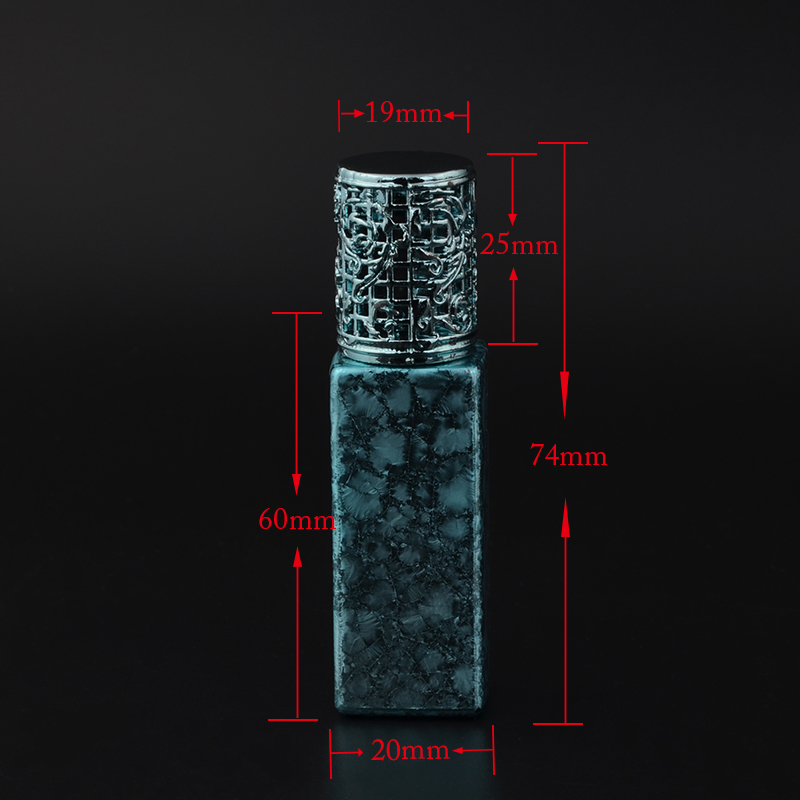 MUB - Դյուրակիր 7ml Mini Glass Glass օծանելիքի - Մաշկի խնամքի գործիքներ - Լուսանկար 3