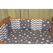 Hot Sale 6Pcs/Lot Baby Bed Bumper in the