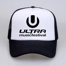 Men Women hat ULTRA MUSIC FESTIVAL Baseball Caps summer Letter Music cap Ultra Music Festival cool mesh trucker cap hats все цены