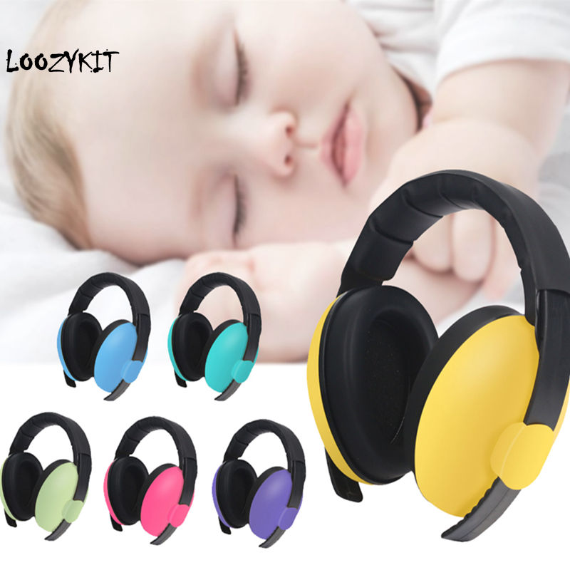 Earmuffs-Protection Headphone Ear-Defenders Noise-Proof Sleep Baby Children Anti-Noise