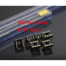 Free shipping Insertion operational amplifier Base Seat Import gold plating a lot for 30 pcs   op amp