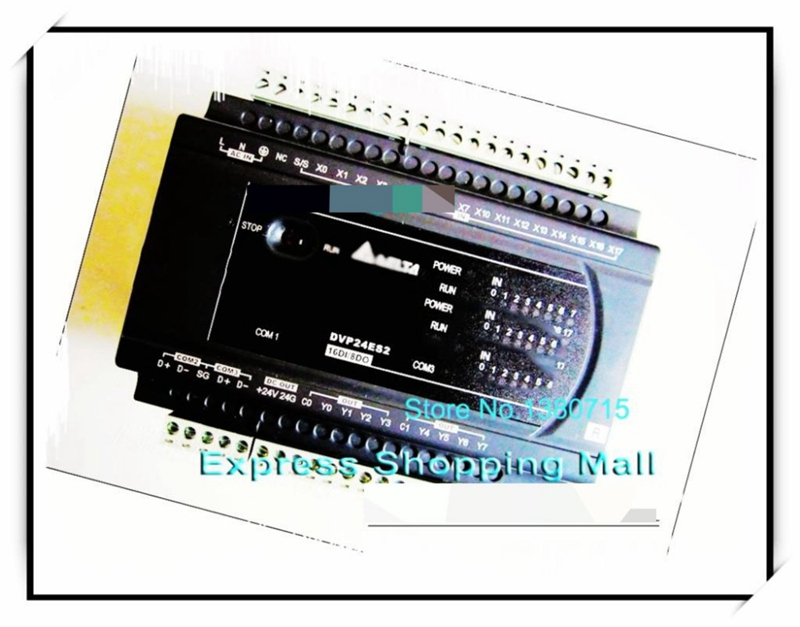 New Original DVP24ES200R PLC ES2 series 100-240VAC 16DI 8DO Relay output new original dvp20ec00r3 delta plc ec3 series 100 240vac 12di 8do relay output