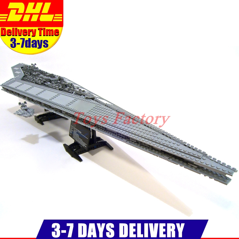 2017 New LEPIN 05028 3208 PCS UCS Super Star Destroyer Model Building Kit Set Block Brick Toy Gift Compatible 10221 lepin 22001 pirate ship imperial warships model building block briks toys gift 1717pcs compatible legoed 10210