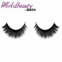 Free Shipping Makeup Handmade 100 Real Mink Natural Thick Fake Natural Fashion False Eyelashes Soft Long