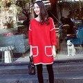 Плюс Размер Новая Мода Осень Материнства Платье Симпатичные Одежда Для Беременных Hamile Giyim Лучший Продаем Корейской Беременности Одежда Платья