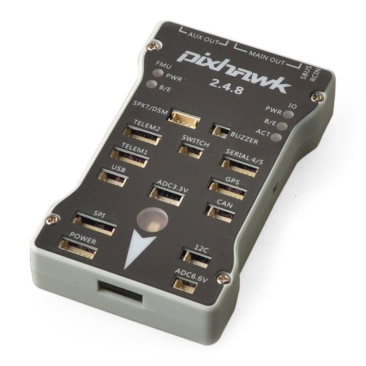 Pixhawk PX4 PIX 2.4.8 32 poco controlador de vuelo PX4FMU PX4IO interruptor de seguridad timbre 4G SD divisor ampliar integrado