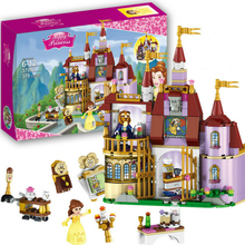 Legoings Enchanted Castle BuildingBlocks 37001 Princess Belles Dolls Girl Friends Kids Model Marvel Compatible withlepiningstoys