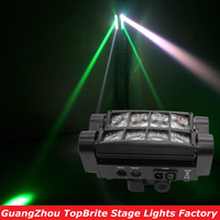 2016 Big Discount Free Shipping Portable 70W NEW Moving Head Light Mini LED Spider 8x3W RGBW