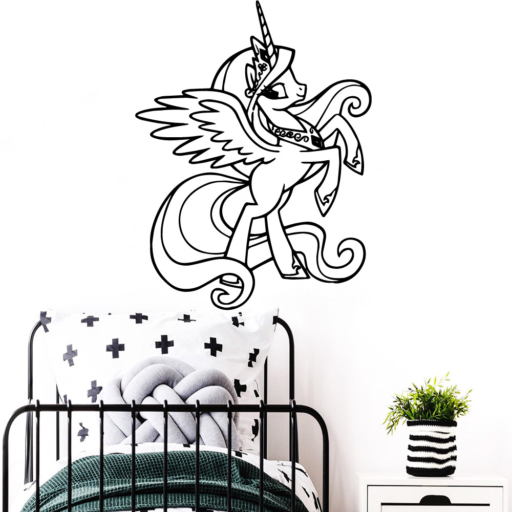 Fun sheep Home Decor Vinyl Wall Stickers For Kids Rooms Decoration Murals