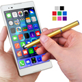 2 in 1 Capacitive Touch Pen Stylus Ballpoint Pens For iPad iPhone 5 5C 5S 6 6+ 6S 6S Plus Samsung S6 S6 Edge Note 3 4 5 HTP728