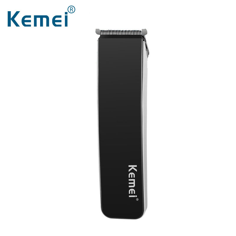 New Professional Kemei Electric Slim Hair Clipper Trimmer Hair Cutter Scissor With 4 Limit Combs Low Noise For Men Child Baby electric barber scissor hair clipper set professional hair salon hair cutter tool artistic carving shaver low noise hot new