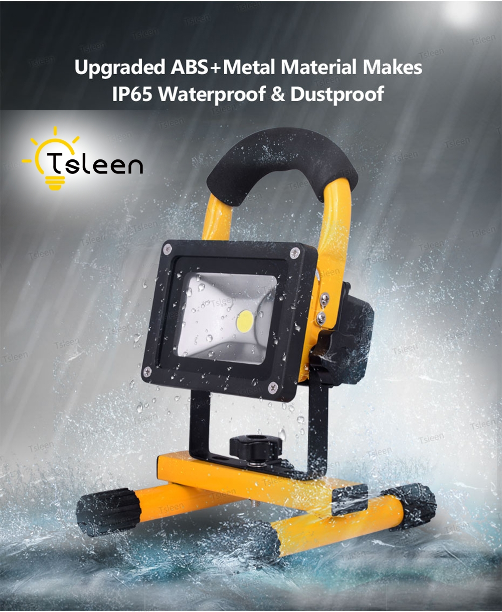 TSLEEN 1PC LED Spotlight 20W Floodlight IP65 Waterproof LED Flood Light AC 220V Refletor LED Outdoor Lighting Gargen Lamp