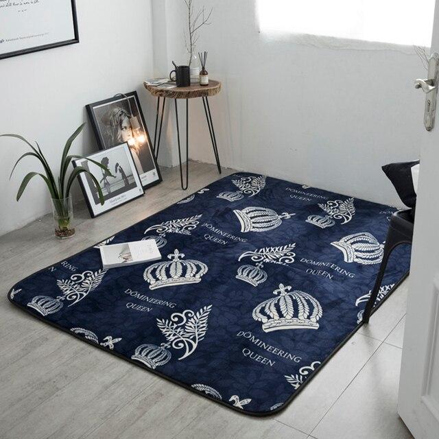 Della signora corona moda soggiorno camera da letto tappeto ...