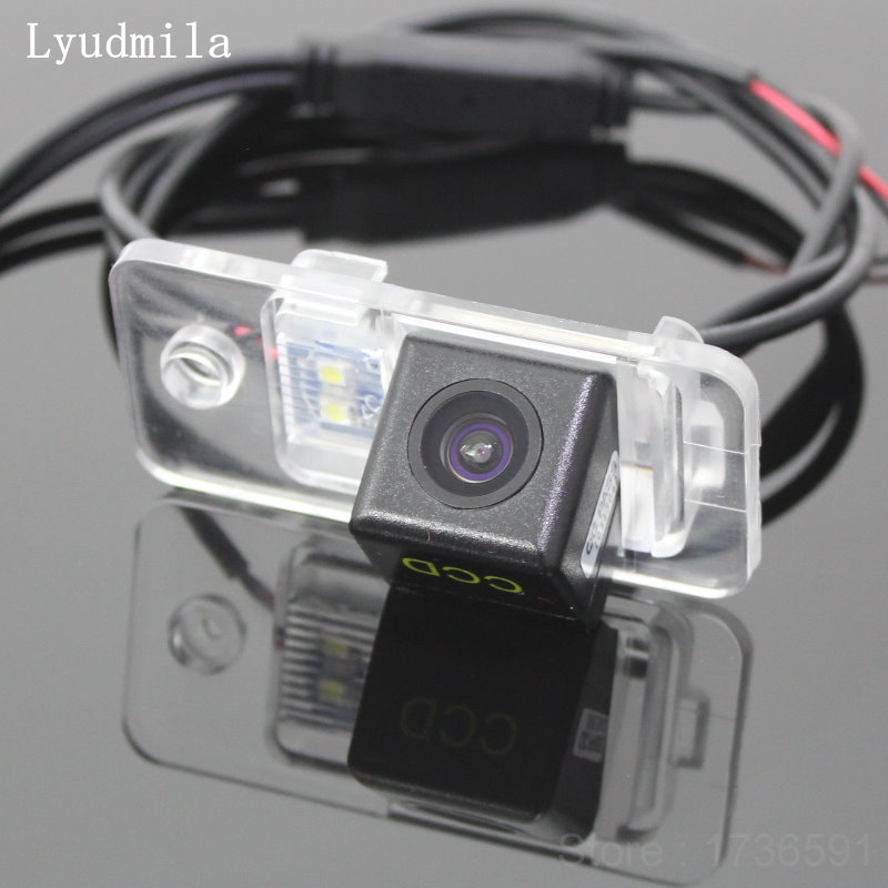 Lyudmila FOR Audi A3 S3 8P A4 S4 RS4 B7 8E 8H A6 S6 RS6 C6 4F Q7 SQ7 4L Car Reverse Camera Back up Camera / Rear View Camera