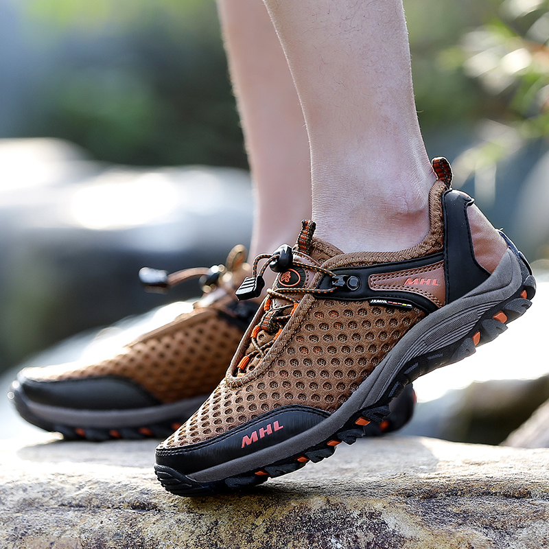Breathable Men Hiking Shoes Men Sneakers Climbing Shoes Men's Hiking Shoes
