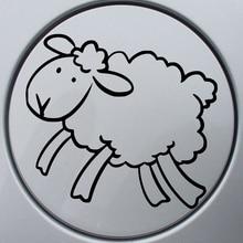Sheep Auto Lovely Vinyl Decor Decals Cute Interesting Fashion Motorcycle SUVs Bumper Car Window Sticker