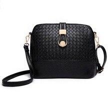 Knitting Women Messenger Bag Fashion Shell Female Bag Women Leather Bag Durable Cross-Body Women Bag Ladie Wallet Shoulder MB148