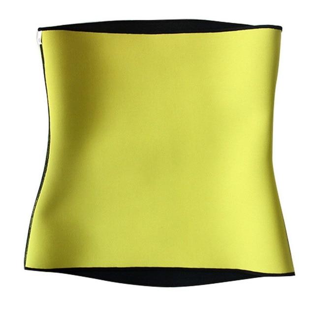 Puimentiua 2019 Men's Slim Fit Hot Yoga Belt Waist Trimmer Muscle Sweat Abdomen Shaper Belt Wrap Homme Tank Tops For Weight Loss 4