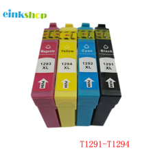 T1291 Ink Cartridge For Epson Stylus SX230 SX235W SX420W SX425W SX430W SX435W SX438W SX440W SX445W Pinter - T1294