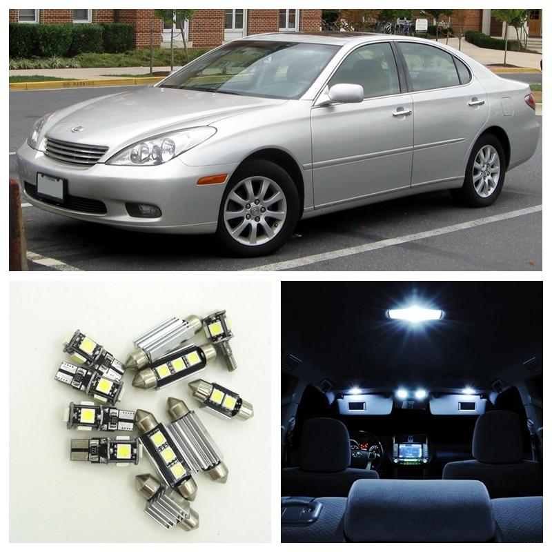 12pcs White Canbus Car LED Light Bulbs Interior Package Kit For 1998-2003 Lexus ES300 Map Dome Door License Plate Lights книги эксмо подлая элита россии