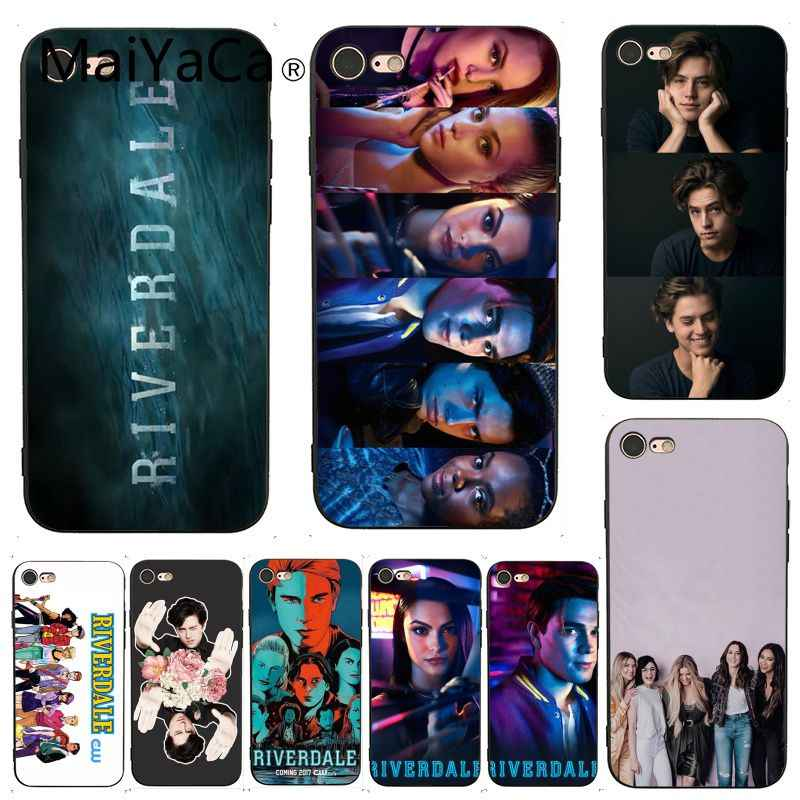 MaiYaCa For iphone 7 Case Hot TV show Riverdale Adorable Luxury Phone Case for iPhone X 8 7 6 6S Plus X 5 5S SE XS XR Cases